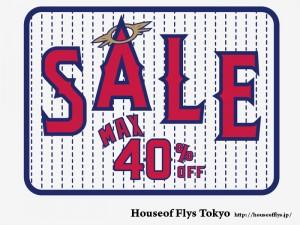 HOUSE OF FLYS TOKYO - Summer Sale開催!! (2012/07/07,08)