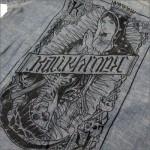 KALI KHRONIC - Raw and death CHAMBRAY Shirts / Blue