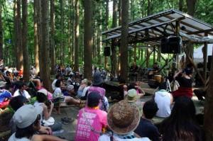木亭道~Upendra and Friends~@FUJI ROCK FESTIVAL '12
