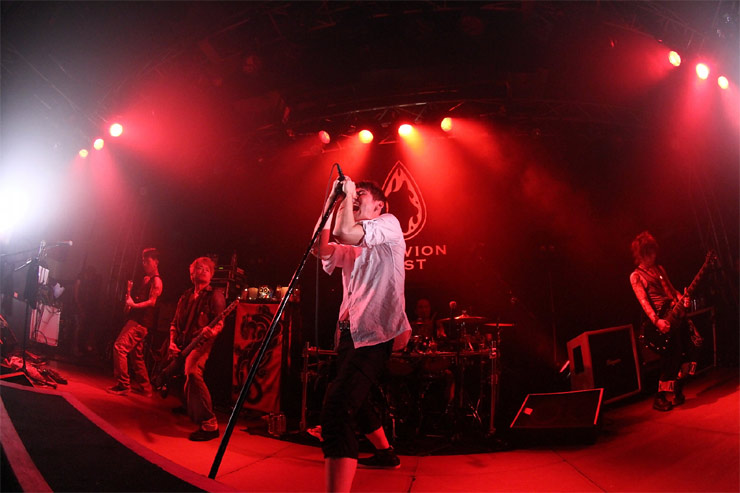 OBLIVION DUST – 『6IX』(2012/08/02,03 -2days-)  at shibuya duo MUSIC EXCHANGE