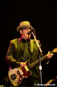 ELVIS COSTELLO AND THE IMPOSTERS@FUJI ROCK FESTIVAL '12