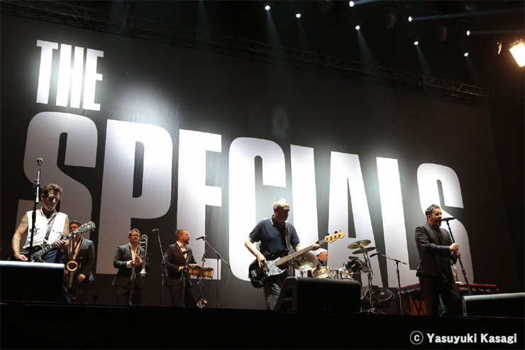 THE SPECIALS@FUJI ROCK FESTIVAL '12 LIVE REPORT