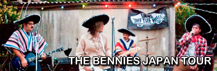 THE BENNIES JAPAN TOUR 2012
