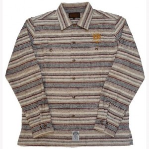 12FW KUSTOMSTYLE KSLS1004BOR VIVA CALIFAS BORDER LONG SHIRTS