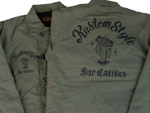 KUSTOMSTYLE – A-2 DECK JACKET,GRIMB HOODIE LAPIS & VIVA CALIFAS BORDER LONG SHIRTS