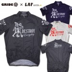 LAF×GRIDE cycle jersey (DESTROY)