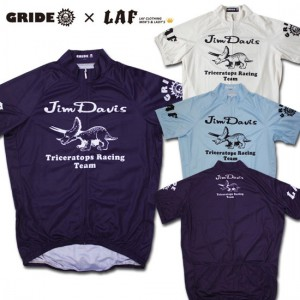 LAF×GRIDE cycle jersey (Jim Davis)