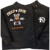 """DEAD SICK""MELTON JACKET"