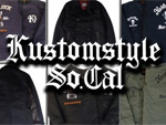 "KUSTOMSTYLE – ""CACTUS SUR CALIFAS"" A-2 DECK JACKET,""DEVIL"" P-COAT & ""DEAD SICK""MELTON JACKET"