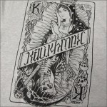 KALI KHRONIC ZIPパーカー Raw and death グレー