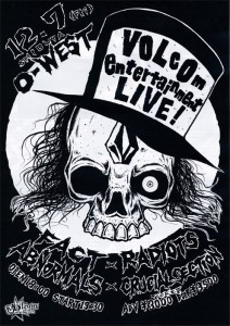 VOLCOM Entertainment LIVE - 2012/12/7(fri) at O-WEST