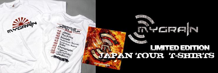 MYGRAIN -ジャパンツアー限定Tシャツ