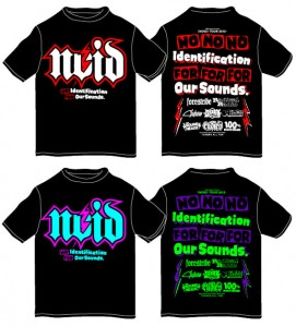 RUDIE'Sと[NOID]のコラボTシャツ販売決定!