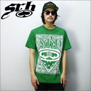 SRH Tシャツ GREASE RAG グリーン
