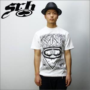 SRH Tシャツ GREASE RAG 白
