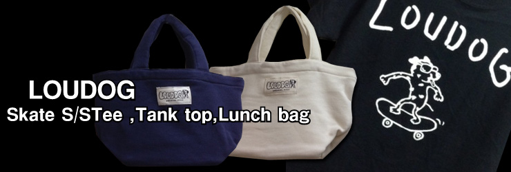 LOUDOG - Skate S/STee ,Tank top,Lunch bag