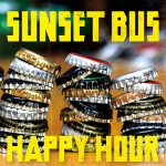 SUNSET BUS 2nd Mini Album 『HAPPY HOUR』 (タワレコ盤黄文字ジャケ)