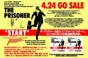 THE PRISONER - mini album 『START』 RELEASE