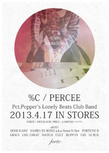 %C / PERCEE - 『Pct.Pepper's Lonely Beats Club Band』