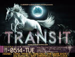 CLUBDROP × audioleaf × MAG SYSTEM presents 【TRANSIT】  2013.05/14,15 at 大阪 心斎橋CLUB DROP、05/16 at 東京 吉祥寺seata