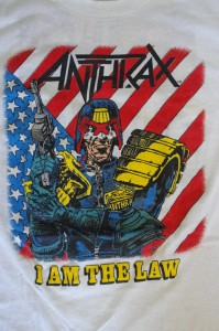 "ANTHRAX ""Judge Dredd 「DROKK IT」""(1988)"