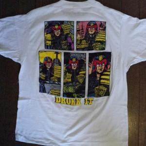 """ANTHRAX """"Judge Dredd 「DROKK IT」""""(1988)"""