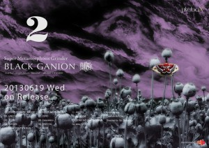 BLACK GANION -  2nd Album 『SECOND』 RELEASE