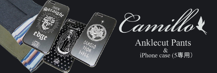Camillo - Anklecut Pants & iPhone case (5専用)
