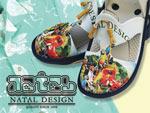 NATAL DESIGN – SHORT SLEVE SHIRTS、SHORTS & SANDAL