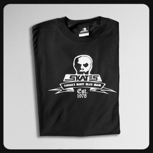 SKULL SKATES `OLDEST'Tシャツ