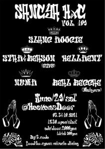 三茶HxC Vol,109 - 2013.06.29(sat) at HeavensDoor