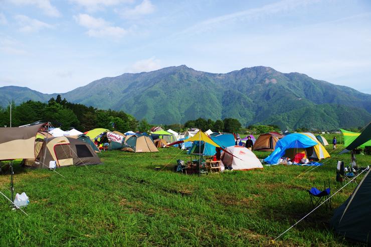 青空camp2015 music&camp festival at ハートランド朝霧 中島酪農場