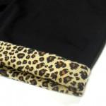 [CRUCIAL ORIGINALS]-Leopard Shorts-BLACK-