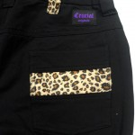 [CRUCIAL ORIGINALS]-Leopard Shorts-BLACK-