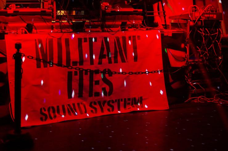 DUBKASM Japan Tour 2016 MILITANT ITES SOUND SYSTEM @ 相模原 CLUB R -Rainbow(2016.02.11)