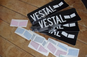 VESTAL ステッカーセット