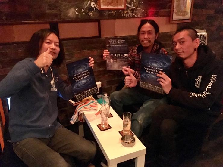 『CD HATA&MASARU OctopusRoope Release Party』開催記念インタビュー(後編)