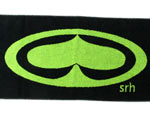 SRH – OG Towel (BLACK/LIME)