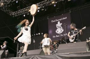 THE CHERRY COKE$ @ FUJI ROCK FESTIVAL '13 LIVE REPORT