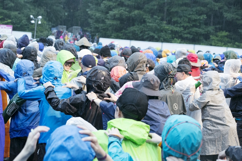ROCKET FROM THE CRYPT @ FUJI ROCK FESTIVAL '13