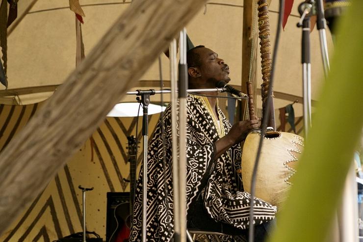 Mamadou Doumbia @ FUJI ROCK FESTIVAL '13