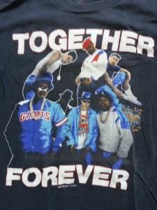TOGETEHER FOREVER<BLACK BODY> / BEASTE BOYS & RUN DMC (1987)