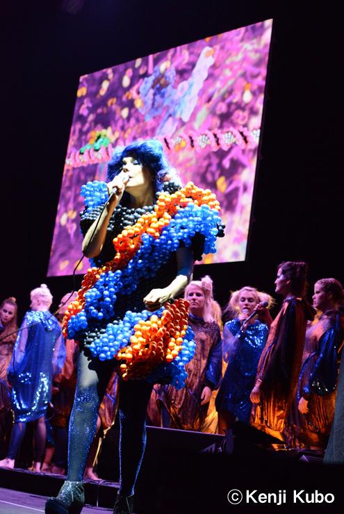 Bjork @ FUJI ROCK FESTIVAL '13 LIVE REPORT