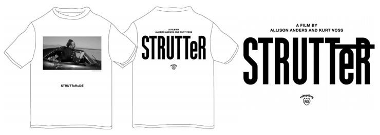 映画 STRUTTeR x RUDE GALLERY コラボレーションTシャツ