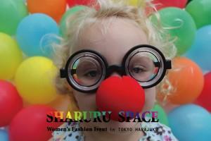 SHARURU SPACE vol.ZERO レディースファッション 複合販売イベント 2013.8/10(土)、11(日) at 原宿THE SAD CAFE 2Fイベントスタジオ