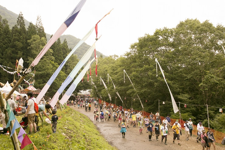FUJI ROCK FESTIVAL '13  photo galley