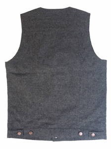 "KSVS1316""PANTHER LOGO""WOOL/COTTON VEST"