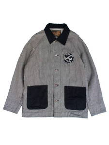 """KSLWJ1310HIC""""AND SONS EMBLEM""""HICKORY COVERALL"""