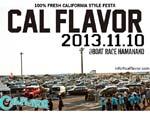 CALFLAVOR 2013 – 11/10 (sun) at 静岡県 浜名湖競艇場特設会場