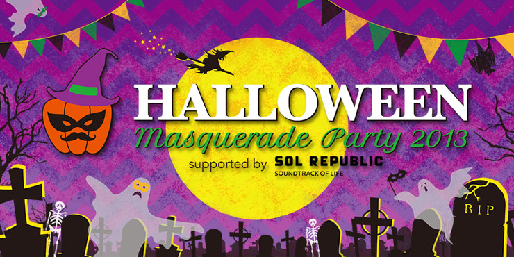 HALLOWEEN MASQUERADE PARTY 2013 supported by SOL REPUBLIC - 2013.10.26 (SAT) at 代官山UNIT/SALOON/UNICE